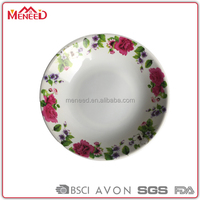 Spring Blossom flower printed with Bottom logo embossed plate for food