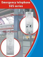 Office Intercom System KNZD-17 Metro Help Phone Underground/Airport Hotline Subway Service Phone