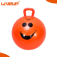 Professional jumping gym ball with pump
