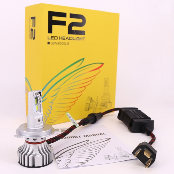 F2 led headlight h4 with high quality and high brightness