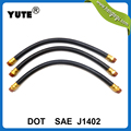 dot approved brass fittings trucks air pressure using fmvss106 brake hose