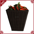 Wholesales factory PE plastic fruit and vegetables shelf for supermarket and store