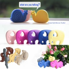 Kean quality toy food set of Food Grade Silicone Teether for baby
