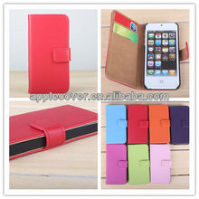 Genuine Leather Case For iPhone5 Case Cover with Card Slot
