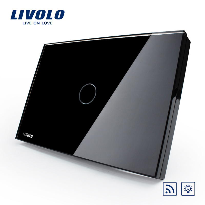 Manufacturer Livolo Electrical Touch controlled Light Switch With Dimmer & Remote Function VL-C301DR-82