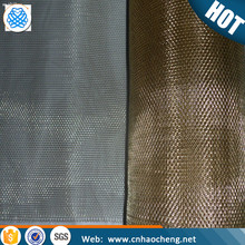 Phosphor copper bronze wire mesh screen sheet fabric