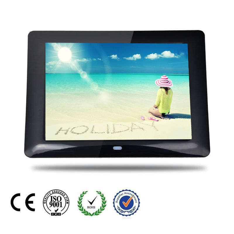 "7"" Portable Audio Video Screen Photo Frame"