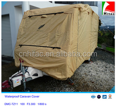 Durable /Windproof/Snowproof protective cover for caravans