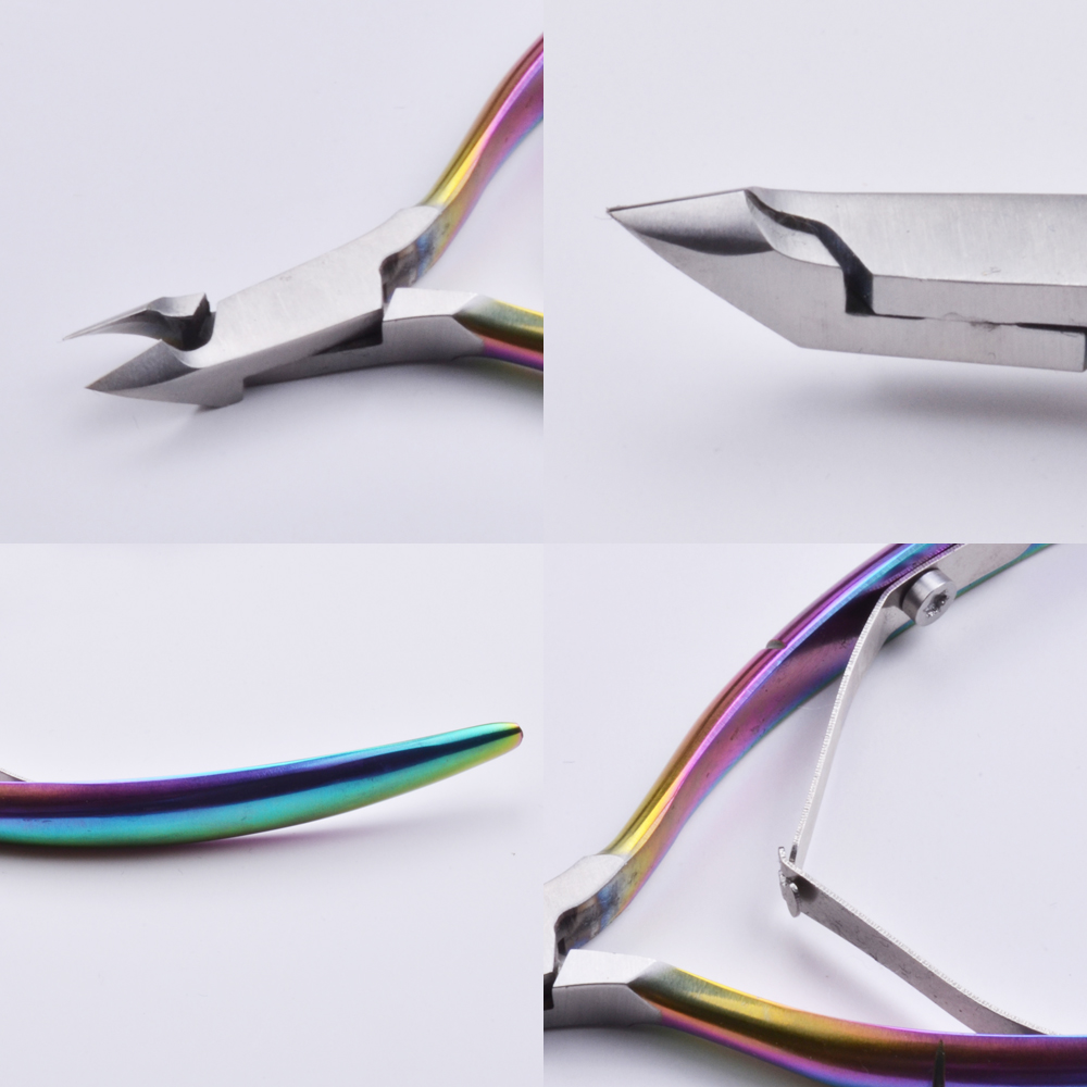 2018 New Stainless Steel Finger Cobalt Cuticle Nipper