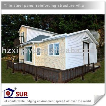 EPS prefabricated beach villa