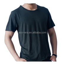 2016 New Bamboo Product Custom T-shirt Bamboo T shirts Wholesale Bamboo Cotton T shirt Alibaba Express China Supplier Jinhua