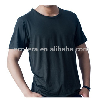2018 New Bamboo Product Custom T-shirt Bamboo T shirts Wholesale Bamboo Cotton T shirt Alibaba Express China Supplier Jinhua