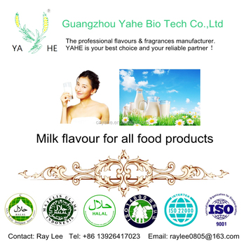 Premium milk flavor HALAL flavouring for bakery,cake icecream beverage biscuit candy dairy products factory supply