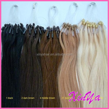 Wholesale High Quality Any Color Any Length Avaliable micro ring hair