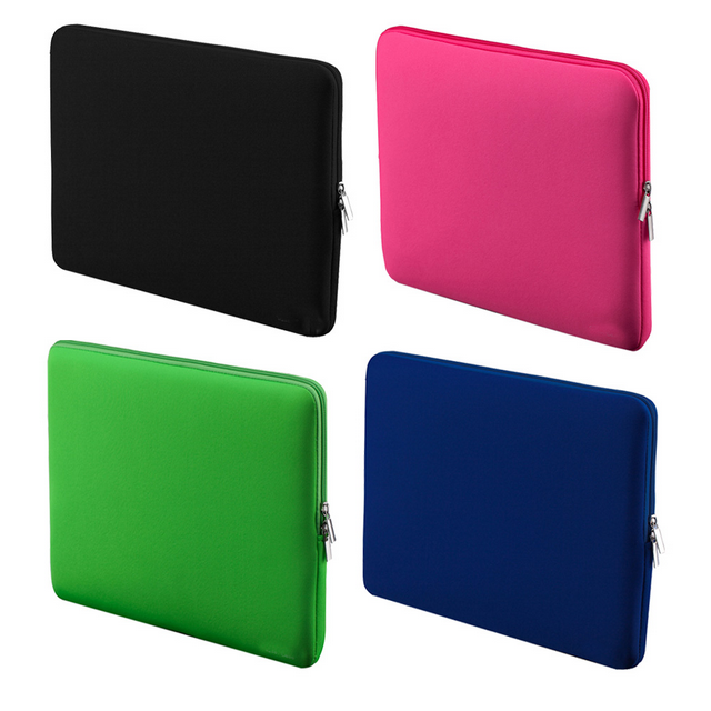 Portable Light Weight Zipper Soft Sleeve 12 inch Laptop Bag Case