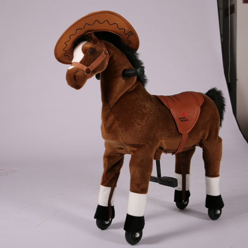 Lovely big toy horses for sale, toy horse for kids , toys stick horses for sale