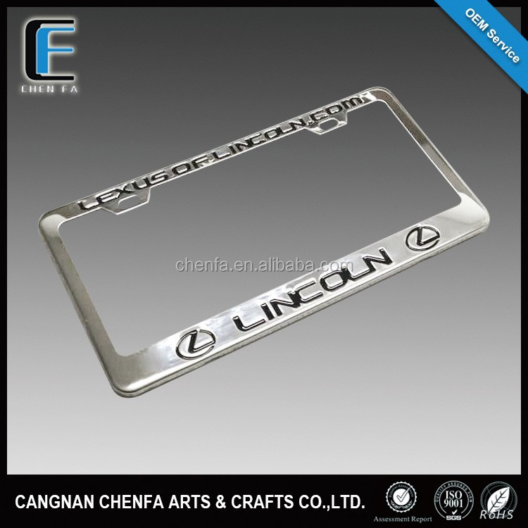 Buy metal license plates and get free shipping on