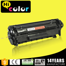 Q2612A empty factory toner cartridge for hp