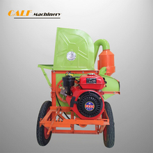 Multifunctional rice wheat thresher machinery with diesel engine