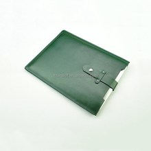 Fashion Leather Simple Green Slim Bag Laptop Computer Protective Case
