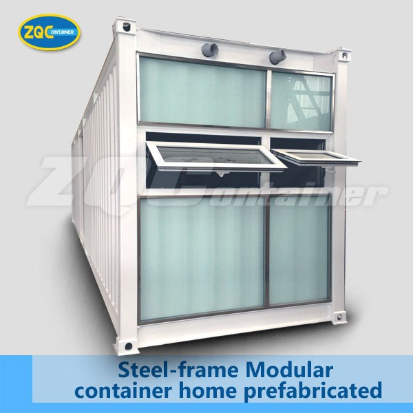 prefabricated Steel-frame Modular container home and house