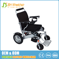 FDA and CE standard 7003 aerospace titanium-aluminum alloy foldable adjustable electric wheelchair lightweight