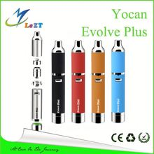 Upgraded of evolve!!! QDC built-in silicone jar Yocan Evolve plus gravity e cigarette evolution