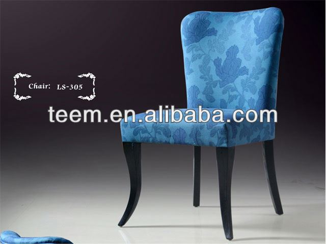 Modern Chair Made in China dining chair navy blue leather furniture