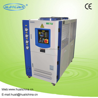 High quality Industry packaged air cooled water chiller, plastic water chiller