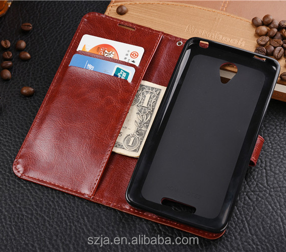 Leather factory Hand-made pu wallet case for xiaomi redmi series phone Card stand PU Genuine Leather Flip case
