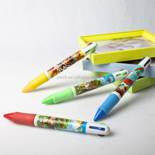 factory price colorful plastic jumbo pen singapore souvenir pen novelty colorful printing big logo pen