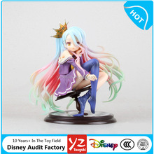2016 Movie Japanese Cartoon No Game No Life Sexy Girl Anime Action Figure Supplier