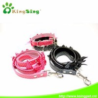 Beautiful pet dog leash with butterfly pattern