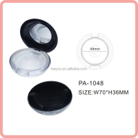 PA-1048 empty loose powder jar with sifter plastic loose powder container