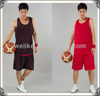 2013 new style basketball jersey reversible mesh basketball jerseys best basketball uniforms
