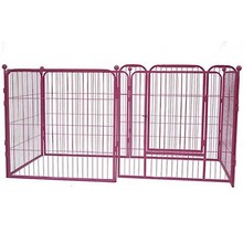 New design wire mesh power coating large dog runs portable dog k9 kennels