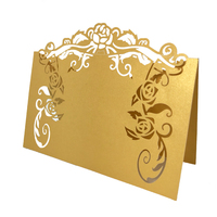 Laser cut wedding decoration Table Seating Place Card