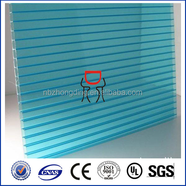 Polycarbonate hollow sheet 4mm 6mm 8mm 10mm