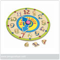 wholesale educational toy,wooden math toys,kid products,wooden clock PY1293