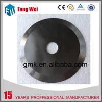 Cost price Supreme Quality circular paper making blade