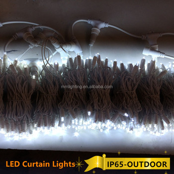 Waterproof Wedding celebration/Christmas Day/Indoor&Outdoor Using LED Curtain Light