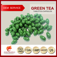 GMP Factory Private Label Herbal Food Natural Green Tea Softgel Capsules
