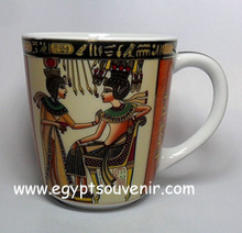 Egyptian porcelain mugs
