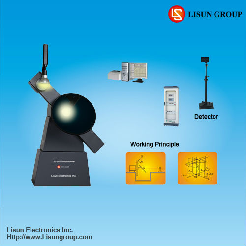 LSG-2000 goniophotometric curve test equipment to measure luminous intensity distribution and beam angle with high accuracy