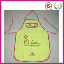 Yellow walmart working apron set with custom logo