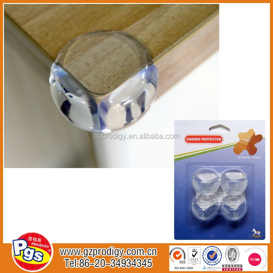 PVC clear plastic bumper guard bump stops manufacturers glass bumper transparent protector