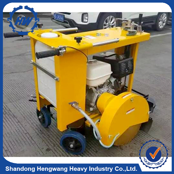 Concrete pavement joint road cutting machine /road cutter concrete cutter for sale