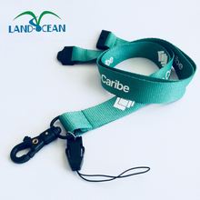Fashion design customer printed safety tools lanyard with plastic hook