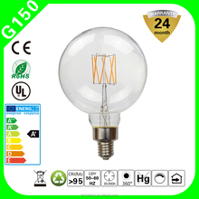 8W G150 Dimmable LED Filament Bulb Edison vertical E27 220V W Replacement