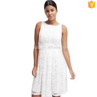 Latest Fashion Lady Sleeveless Sexy Lace Dress